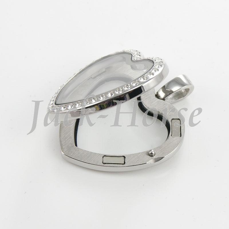 Loket tahan karat kaca tahan karat 316L berkualiti - Perhiasan fesyen - Foto 3