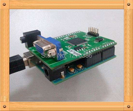 Free Shipping!!!  Gameduino VGA game development board / FPGA with serial Verilog source MODULE цены онлайн