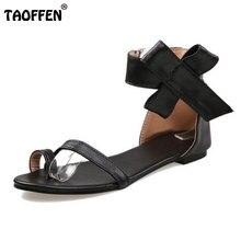Taille 30-48 Mode Grandes Fleurs Noir Orteil Couvrant Arc Femmes Sandales Plates Chaussures D'été Bandage Sandales Flip femelle PA00675