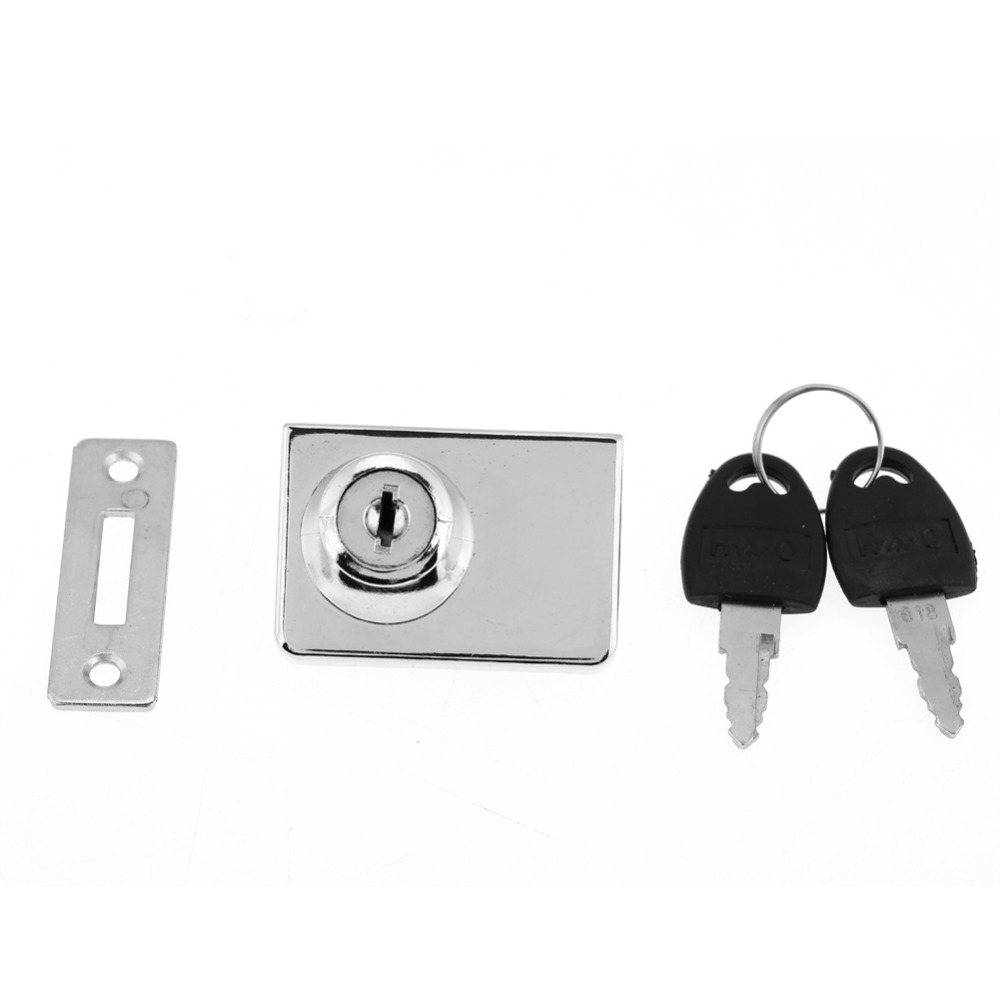 Zinc Alloy Single Door Drawer Lock keep Safty and Security with Keys Office Home Drawer Lock with Keys