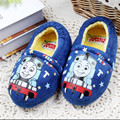 Cute kids indoor slippers slippers / cartoon patterns kids skid cotton slippers, boys and girls winter Home shoes