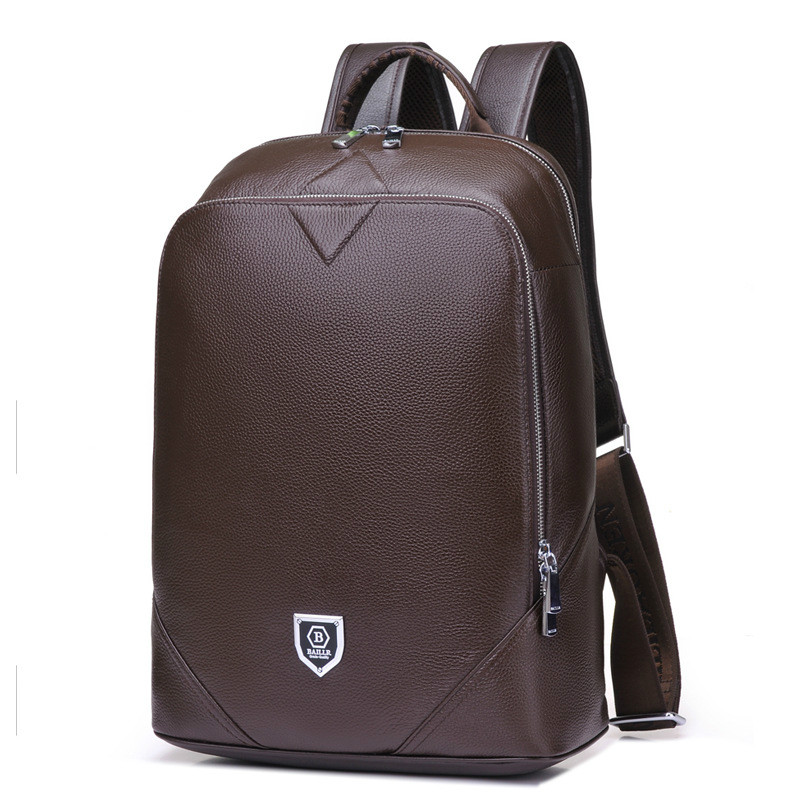 Cow Leather 14inch Notebook Backpack Men For Travelling Fashion Cool School Backpack Bags For Boys Anti Theft Laptop BackpackCow Leather 14inch Notebook Backpack Men For Travelling Fashion Cool School Backpack Bags For Boys Anti Theft Laptop Backpack