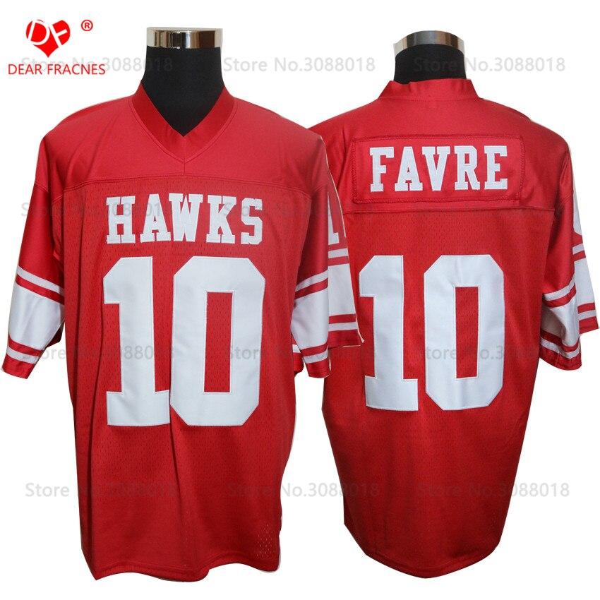 Cheap shirt for mens american football jerseys brett favre for Hawks t shirt jersey