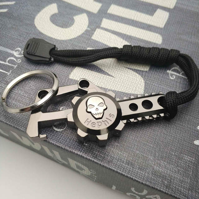 K2 For Sale >> Hephis Hot Sale Skeleton Chainsaw Keychain Unique Commemorative Gift For K2 Lover Friend Electric Saw Key Chain Bottle Opener