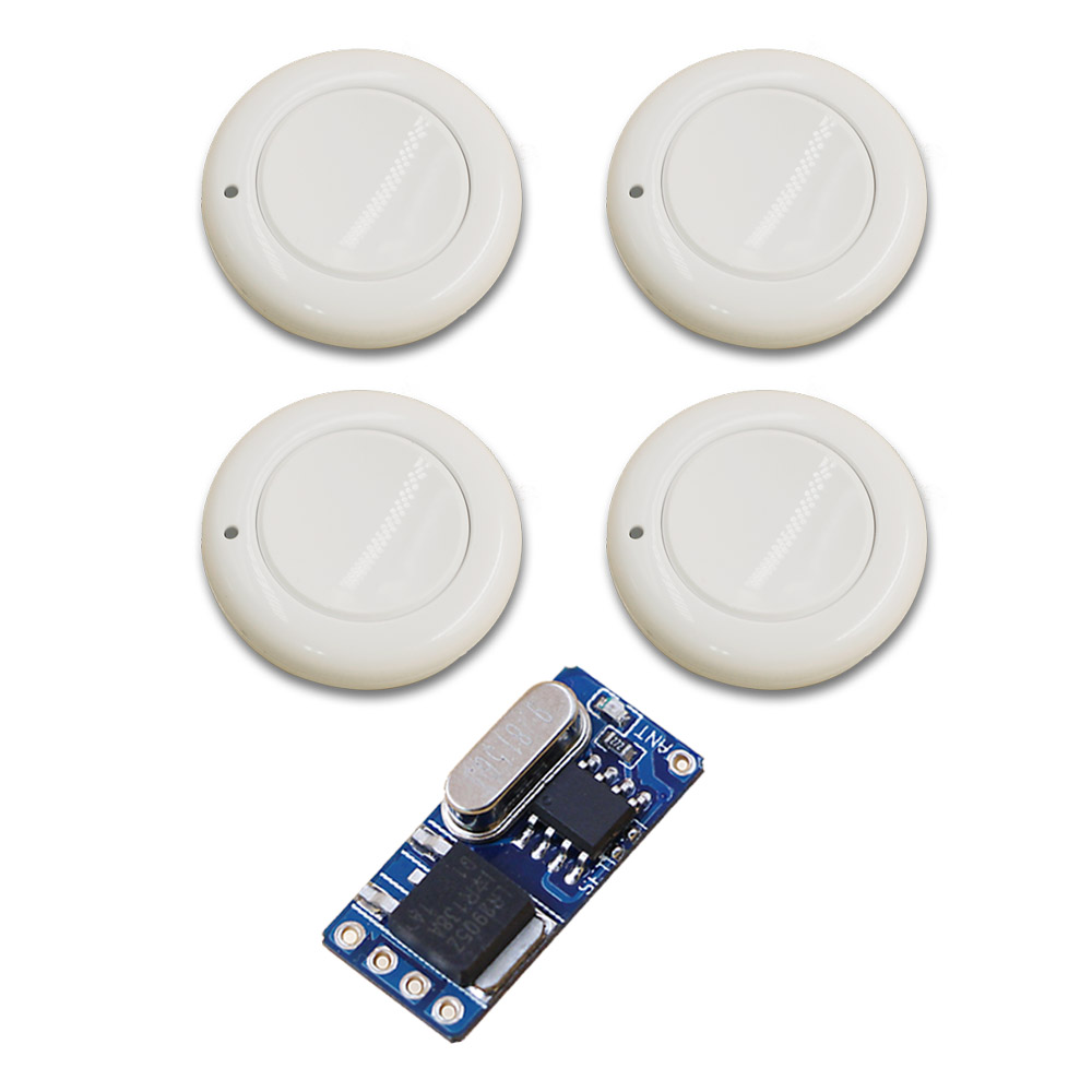 White Small Volume Relay Receiver DC3.6V 4.8V 5V 6V 7.4V 9V 12V Mini Remote Control Switch Micro Power ON OFF Remote NO COM NC atsuko asano no 6 volume 5