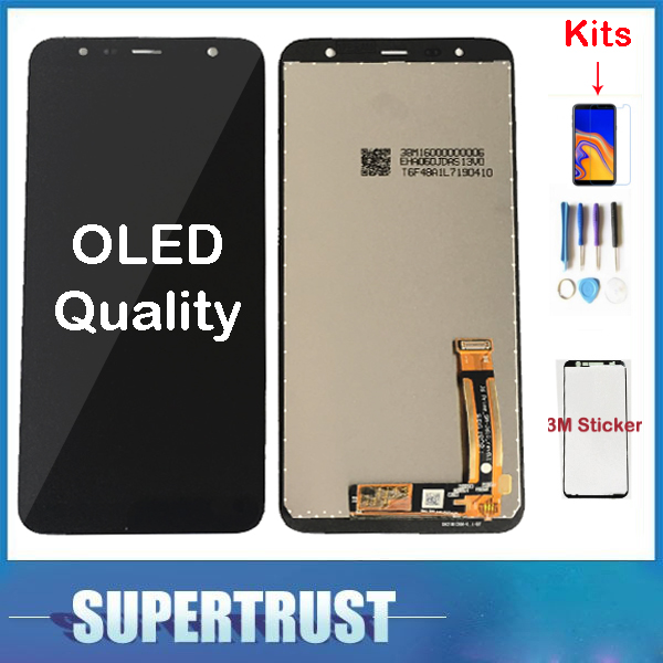 Original Für Samsung Galaxy J4 + 2018 J4 Plus J415 J415F J410 J6 Prime J6 Plus 2018 J610 LCD Display touchscreen Sensor + Kit