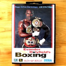 Boxing 16 Bit MD Game Card with Retail Box for Sega MegaDrive & Genesis Video Game console system