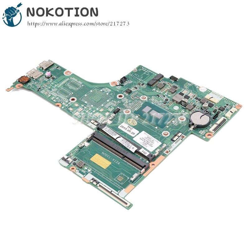NOKOTION HP Pavilion 17-G Laptop Motherboard W/ I5-5200U CPU 809319-001 809319-601 DAX12AMB6D0 DDR3 full testedNOKOTION HP Pavilion 17-G Laptop Motherboard W/ I5-5200U CPU 809319-001 809319-601 DAX12AMB6D0 DDR3 full tested