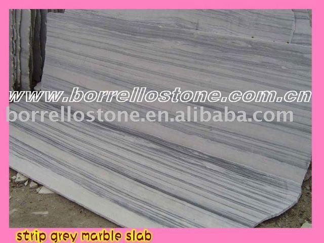 Laizhou Strip Grey Marble Countertops,Vanity Tops & Table Tops