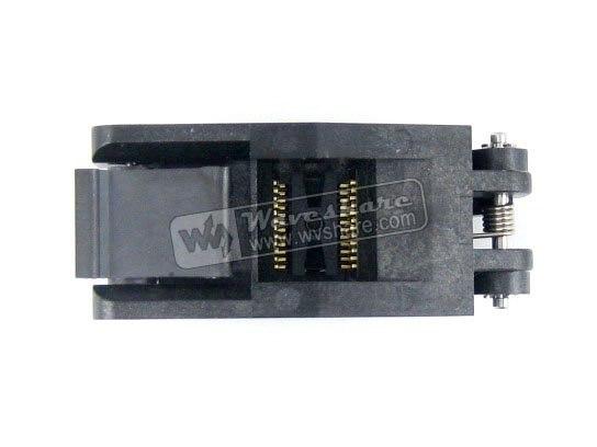 ФОТО Modules SSOP24 IC Test Socket TSSOP24 FP-24-0.65-01A Enplas Programmer Adapter with 24 pins 5.6mm Body Width 0.65mm Pitch