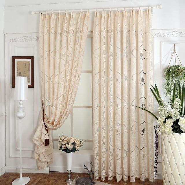 Rústico diseño por encargo cortinas para ventanas comedor cortina ...