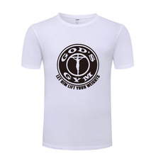 "Christian T-Shirt "" God's Gym"""