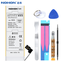 NOHON Mobile Battery For IPhone 6S 2060mAh High Capacity Internal Replacement Batteries With Repair Tools Kit