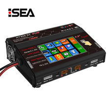 цена на HTRC HT306 DC DUO dual channel 600W Color LCD Touch Screen Balance Charger for Lilon/LiPo/LiFe/LiHV/NiMH/NiCd/PB Battery