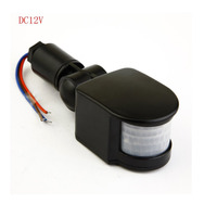 New Arrival 10 50W 12V 85 265V Outdoor Security PIR Human Body Motion Sensor Detector Inductor