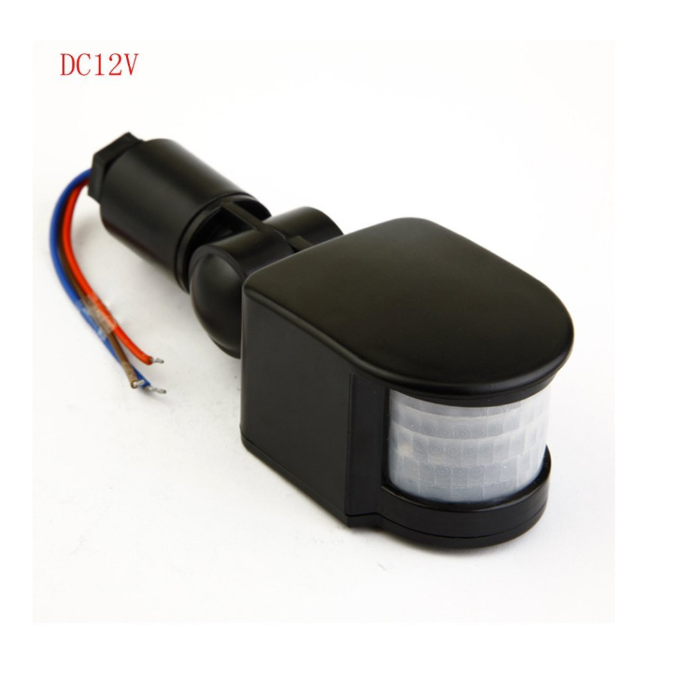 New 10-50W 12V/ 85-265V Outdoor Security PIR Body Motion Sensor Detector Inductor Switch for LED Floodlight Lamp ...