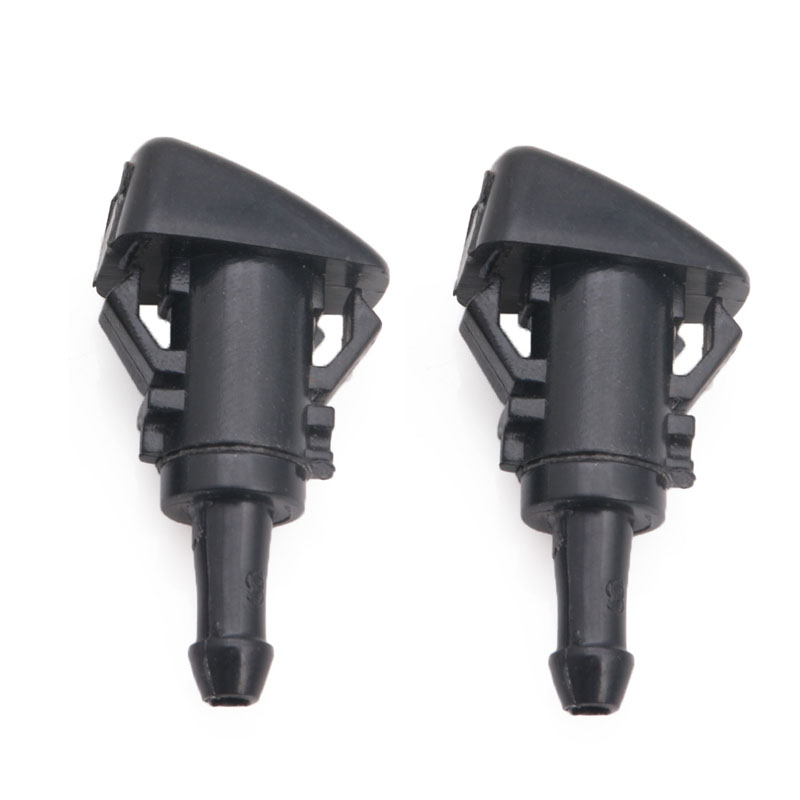 2pcs Windshield Washer Nozzle Cleaning Sprayer For