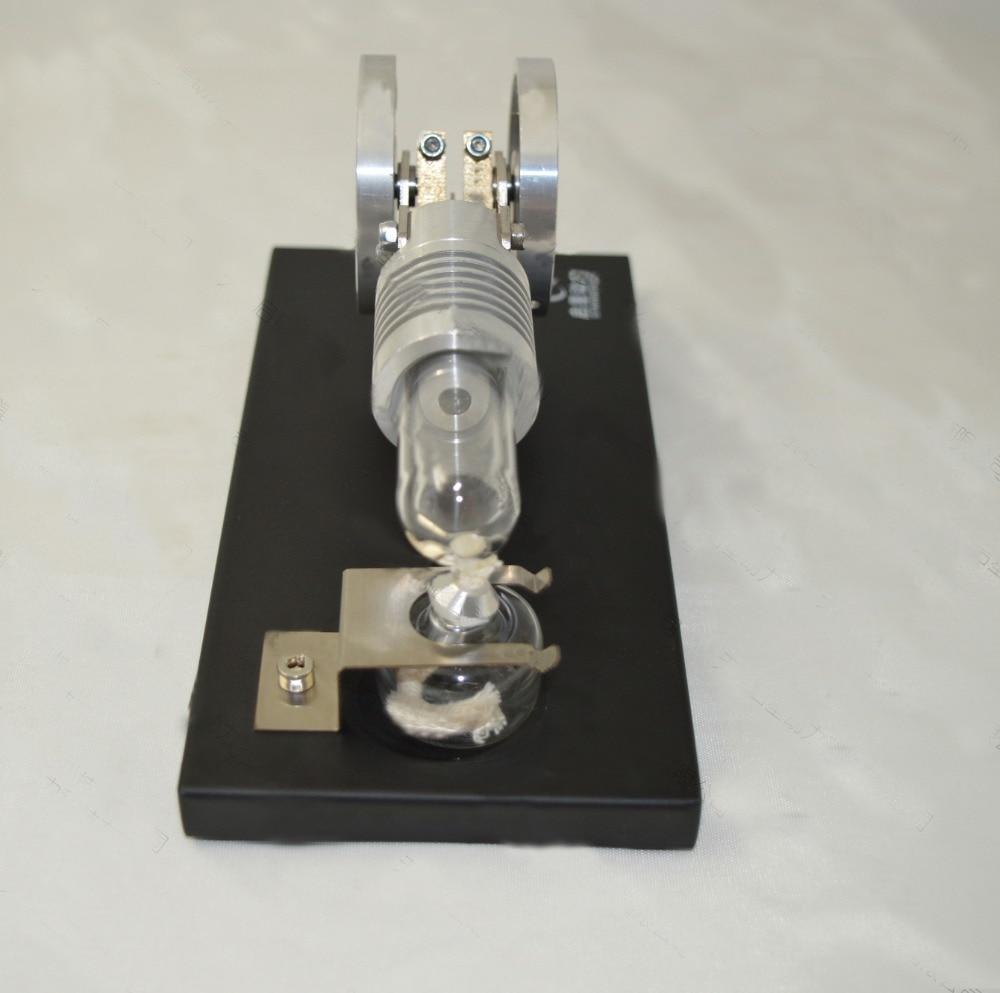 Spalovací pohon Stirling Engine Manson bez - Školní a vzdělávací materiály - Fotografie 5