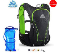 AONIJIE Women Men 5L Upgraded Marathon Hydration Vest Pack For 1.5L Water Bag Cycling Hiking Bag Outdoor Sport   Running   Backpack