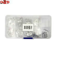 HKOBDII 340pcs/lot Car Lock Repair Kit Accessories Car Lock Reed HON66 Lock Plate For Honda 200pcs lot hu92 car lock reed locking plate hu92 car locks tablets lock spring car locksmith tools
