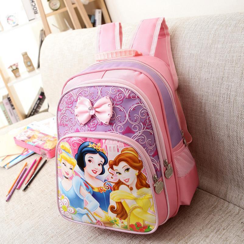Kids Bag Children Schoolbag Princess Backpack Girls School Bags Fashion Kids Backpack Shoulder Bag Mochila Infantil|School Bags| |  - title=