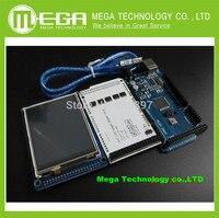 3 2 TFT LCD Touch TFT 3 2 Shield Funduino Mega 2560 Free Shipping
