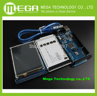 3 2 TFT LCD Touch TFT 3 2 Shield Funduino Mega 2560 Free Shipping