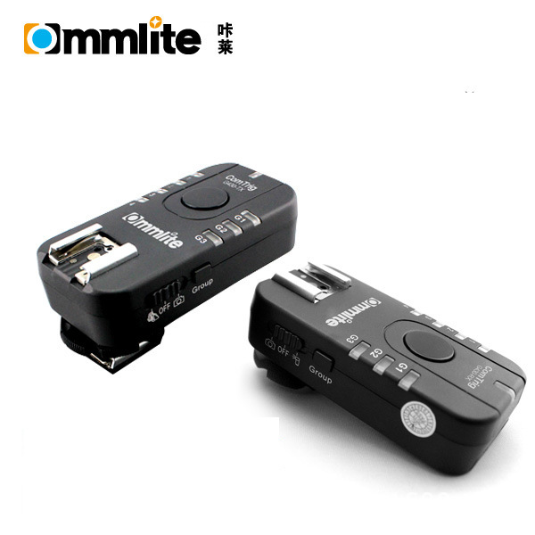 F18505 ComTrig G430 Grouping Flash Trigger Set No Remote Cable for Nikon G430D Canon G430C Cameras