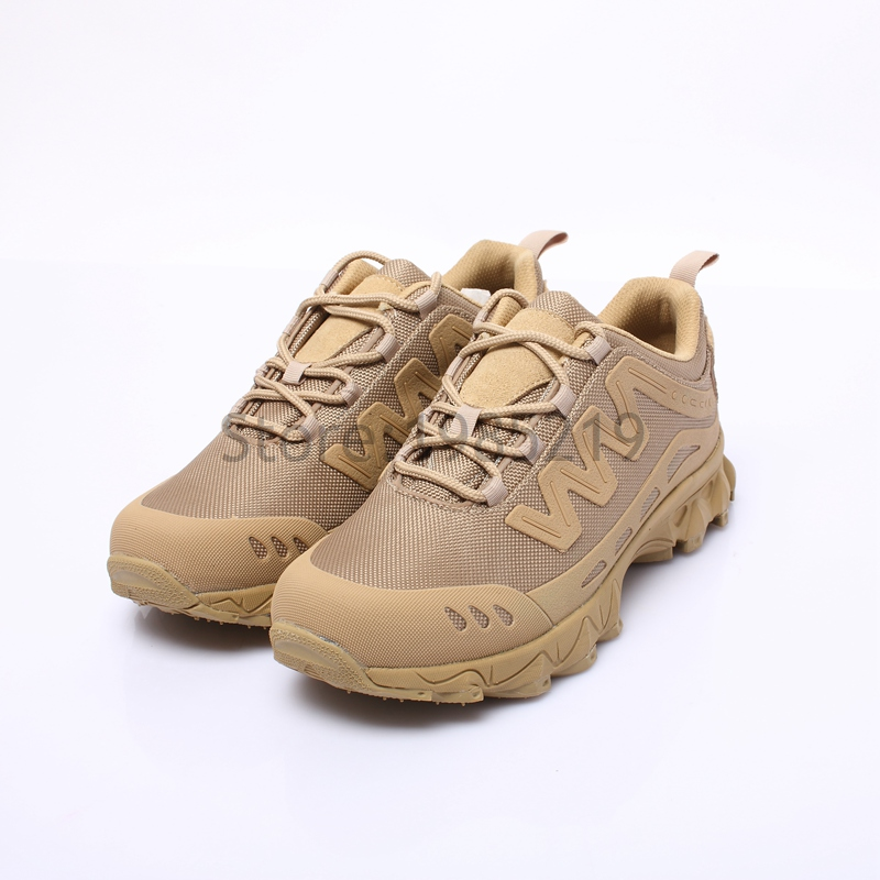 Military Outdoor Rapid Reaction Lacing system Sporting Boots Tactical Climbing Shoes Tan Hot Sale