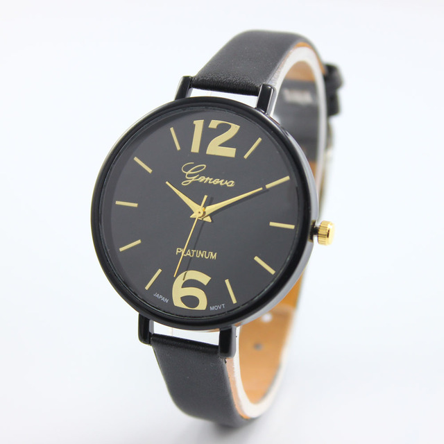 Leather Women Wristwatches