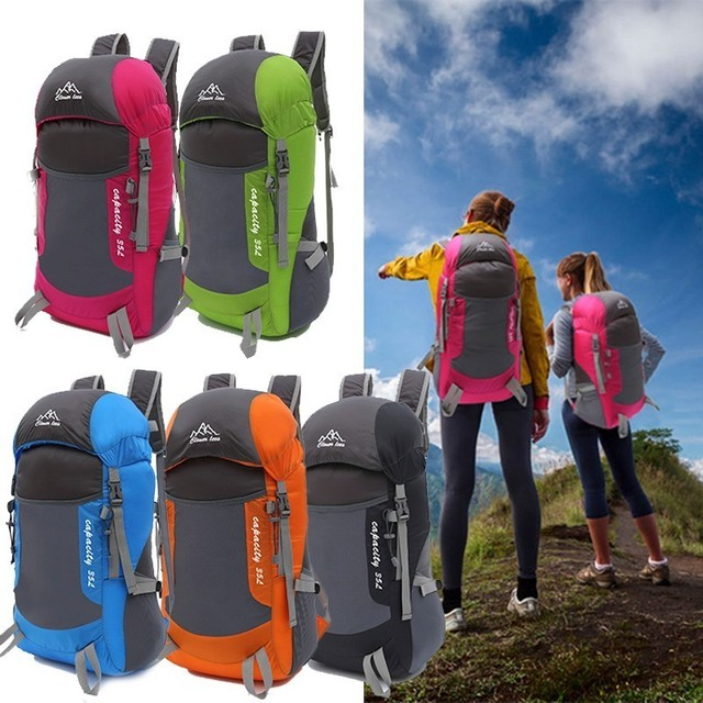 Foldable Sport Bag Super Pack Travel Backpack Outdoor Trekking ...