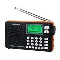 オリジナルクラシックデゲンde29 fmラジオデジタルチューニングフルバンドカードレシーバーキャンパスポータブルラジオ卸売dropshopping Y4217A