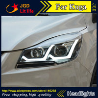 High Quality HID LED Headlights Headlamps HID Hernia Lamp Accessory Products Case For Ford Kuga Car