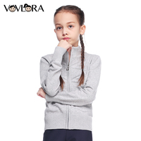 VOVLORA 2017 Cotton Sweater Long Sleeve Girls Turtleneck Sweaters Striped Back To School Clothes For Girls