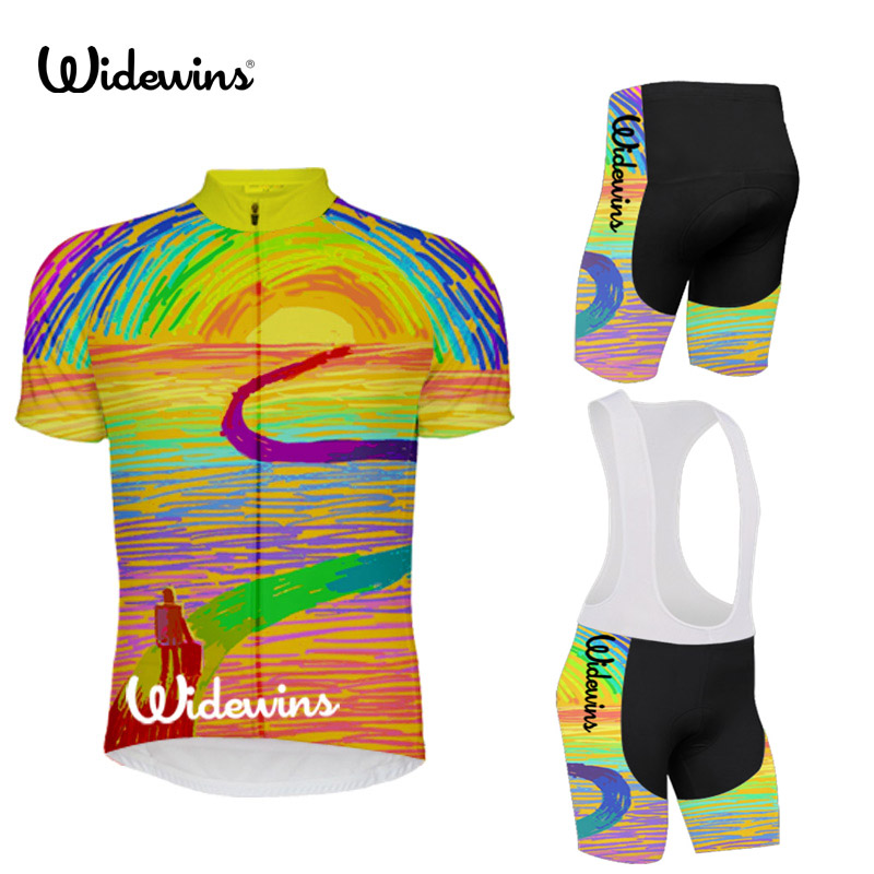Hot Sale women mens Cycling Jersey Summer Mtb Short Anti-sweat Bicycle Clothing Quick Dry Jerseys Travel 5673