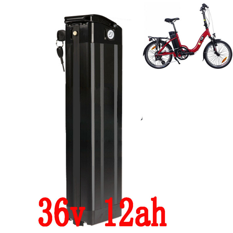 US EU no tax  Electric Bike Battery 36V 12Ah 800W Use  Samsung 3000mah  Cell With 2A Charger and 20A BMS e- Bike Battery