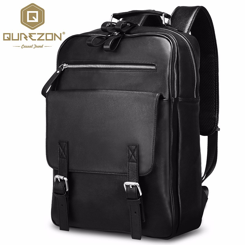 Large Capacity Genuine Leather Laptop Bag Men Real Cow Leather Multifunction 16 inch Business Casual Travel Backpack Top QualityLarge Capacity Genuine Leather Laptop Bag Men Real Cow Leather Multifunction 16 inch Business Casual Travel Backpack Top Quality