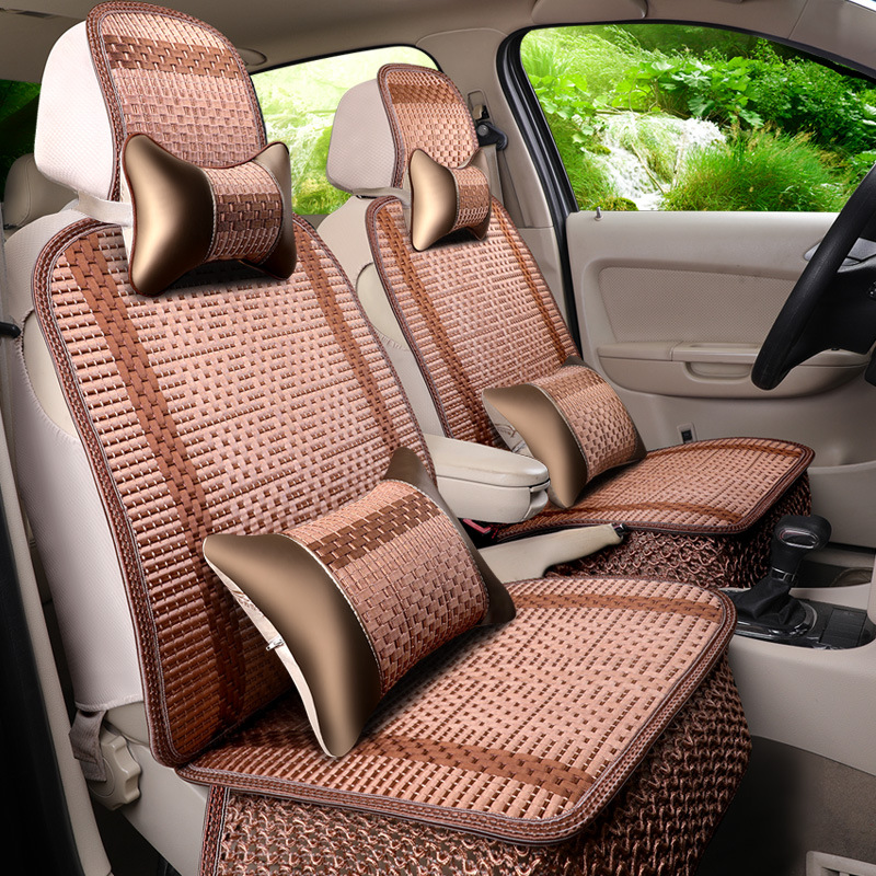 Summer Seat Cushion Ice Wire Car Cushion Cover Cross-border Wholesale for 3D Breathable Seat Cove