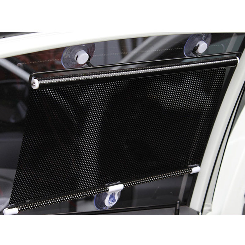 Image 5 - GSPSCN Retractable Car Front Rear Side Window Sunshades PVC Auto Windows Sun Shade Anti UV Protection Sun Visor For any Car-in Side Window Sunshades from Automobiles & Motorcycles