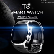 EDAL T8 Bluetooth Smart Watches Support SIM &TF Card With Camera Sync Call Message Men Women Smartwatch Watch For Android