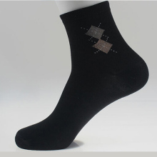2015 Athletic Promotion New Meias Weed Mens Sock Brand Quality Fashion Rhombus style Blending Sports Socks