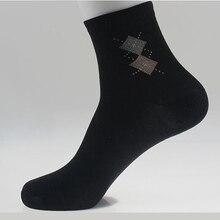 Мода Горячие Продажа Meias Weed мужская Носок Марка Качество Мода двойной Ромб 5 Стиль Цвета Смешивания Носки для мужчин бесплатно доставка