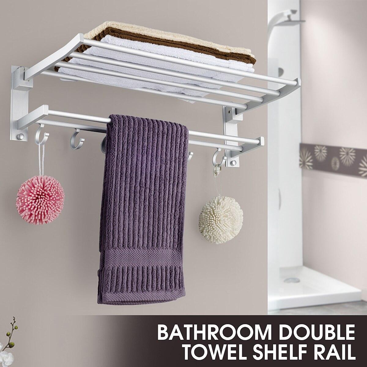 Alumimum Foldable Bathroom Towel…