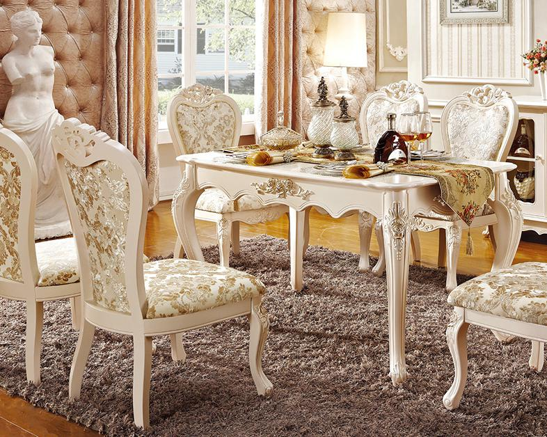 Latest design Newest design Royal dinning table set with chairs vialli design