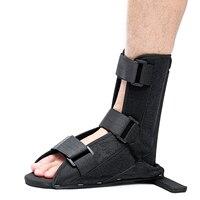 SGODDE 1 шт. черный мягкий шина загрузки Брейс лодыжки Поддержка для Tendinitis подошвенный Fasciitis пятки Шпоры фиксированной ортопедические уход