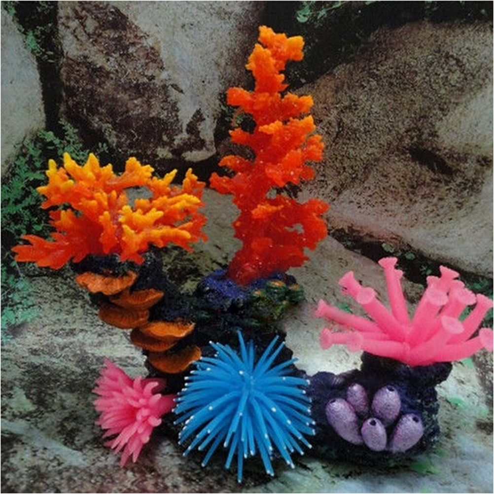 Aliexpress.com : Buy New 1PC Silicone Aquarium Fish Tank Artificial ...