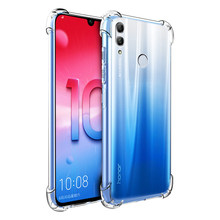 Clear Anti-knock Case For Huawei Honor 10i 8 9 10 Lite 8X Max 8C V9 Play 6C Pro Note 10 Anti-fall Case For P30 P20 Mate 20 Lite(China)