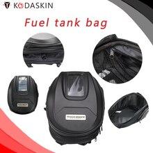 KODASKIN Motorcycle Waterproof Bag Fuel Tank Tag Hard Shell Magnet Suction Rider Backpack