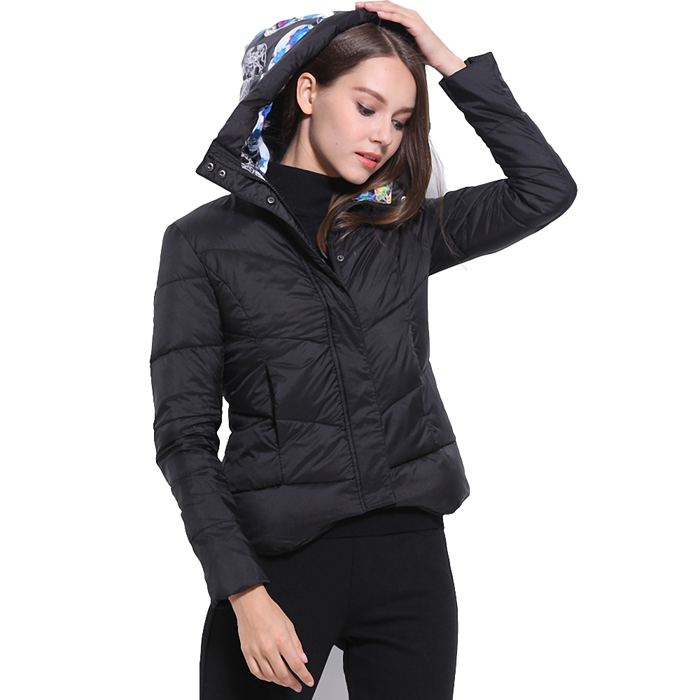 ФОТО Europe Style 2017 Winter Coat Short Style Women's Fashionable New Designing Down Jackets Dropshipping