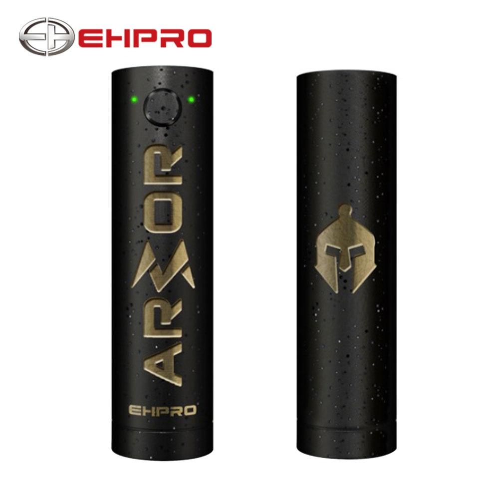 Original Ehpro Armor Prime Mechanical Mod Features LED Battery Life Indicator & Suit 0.2ohm-1.2ohm Coil No 20700/18650 Cell Mod ehpro armor prime mod